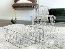 Geometric Metal Nested Baskets (Set of 4) by Handcrafted 4 Home