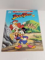 Disney's Duck Tales 1990 Vintage Big Golden Coloring Book NICE but 3 pgs colored