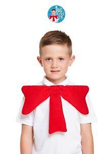"""13"""" Oversized Big Bow Neck Tie Girls Boys Fancy Dress Party Bowtie Accessory UK"""