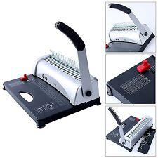 21-Hole 450 Sheets Binding Machine Paper Comb Punch Binder YaeKoo Scrapbook  -BM