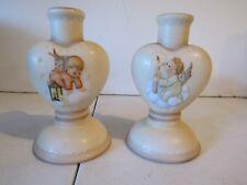 Wonderful Pair of Vintage Goebel Candlestick Holders
