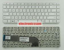 For HP Envy Pavilion dv4 dv4-5260nr dv4-5220us Keyboard 699286-001 White Frame