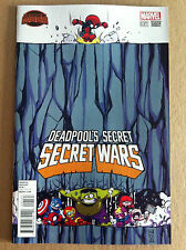 Deadpool'S Secret Secret Wars #1 Skottie Young Variant Cover Nm 1St Printing