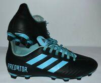 Adidas Predator 19.4 Firm Ground Men's US Size 8. Blue/Black