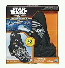 Disney Star Wars Micro Machines Kylo Ren Play case space ships hasbro miniatures