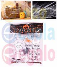 Halloween Maxi Ragnatela Ragnatele con Ragni in Busta Party - giocoscuolaregalo