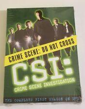 CSI: Crime Scene Investigation - The Complete First Season (DVD, 2003, 6-Disc S…