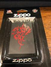 Zippo Hidden Dragon Lifetime warranty Windproof ligher