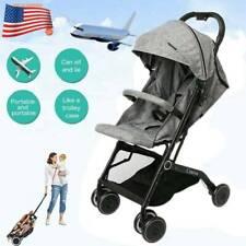 Foldable Baby Stroller Pram Travel Pushchair Infant Buggy Lightweight Carry On
