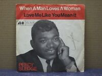PERCY SLEDGE - WHEN A MAN LOVES A WOMAN - 45 GIRI - VG/VG