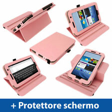 Custodie e copritastiera rosa Per Samsung Galaxy Tab in pelle per tablet ed eBook
