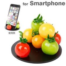 Realistic Food Smartphone Stand Holder Desk Accessory (Cherry Tomatoes)
