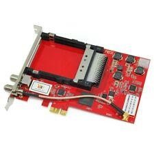 TBS6910 DVB-S2 Dual Tuner Dual CI HD Satellite PCIe TV Card