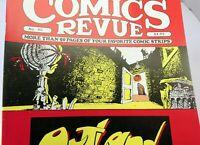 October 1989 COMICS REVUE Magazine #40
