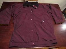 Patagonia Womens USA Made Purple Shell Fleece Lined Long Jacket Coat Sz Large