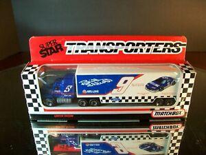 Bill Elliott #9 Generic Coors Light GRAY 1:87 Racing Team Transporter Matchbox