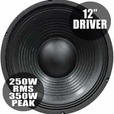More details for soundlab 350w bass chassis speaker driver 8 ohm 12 inch woofer 310mm high spl
