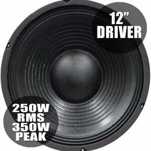 SoundLab 350w Bass Chassis Speaker Driver 8 Ohm 12 Inch Woofer 310mm High SPL