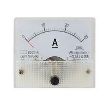85C1 Analog Current Panel Meter DC 30A AMP Ammeter CT S8S0 K1Q3