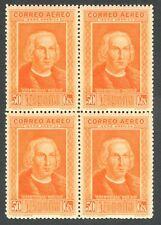 ESPAÑA 1930 - EDIFIL 562cc** - BLOQUES DE 4 - DESCUBRIMIENTO DE AMÉRICA - MNH