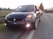White Fog Lamp Angel Eye Driving Halo Lamps for 05 06 07 08 09 2010 Suzuki Swift