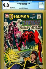 Strange Adventures #214 CGC GRADED 9.0 - white pages - Neal Adams cover/art
