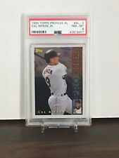 1996 Topps Profiles AL #AL-8 ~ Cal Ripken Jr. ~ PSA 8 NM-MT