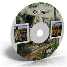 COTTAGES IMAGES CRAFT CD ART CARD MAKING SCRAPBOOKING
