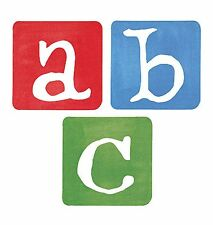 40 Alphabet Letters Wallies Cutouts Abc Walls Furniture Stickers Decals Name