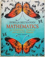 MATHEMATICS FOR ELEMENTARY TEACHERS - 3RD ED - 2011 - TEXT ONLY