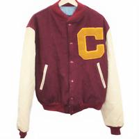 V60 Vintage 1960s Champion Letterman Varsity Bomber Jacket Made in USA Large