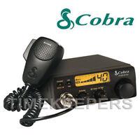 COBRA 19DX IV EU Version Fixed LCD AM FM Multi Band CB Radio Transceiver & Mic