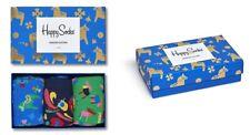 Happy Socks Swedish Edition Giftbox 3er Pack, Geschenkbox - blau / grün / bunt