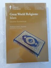 THE GREAT COURSES DVD & BOOK  GREAT WORLD RELIGIONS: ISLAM   NIP  RET $199.95