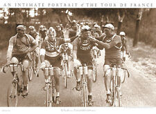 BICYCLE ART PRINT - TOUR DE FRANCE (SMOKERS) 30x22 Bike Smoking Smoke Poster