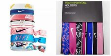 Nike Youth Ponytail Holder 9 Pack