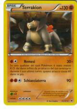 CARTA POKEMON  - TERRAKION - 73/101 - 130 PV - FOIL -  RARA - IN ITALIANO