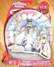Power Rangers Super Megaforce NINJA STORM SILVER RANGER ORION 38206