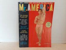 Mr. America Nov 1962 Magazine Charles Amato Mr. America Contest Shelf L4