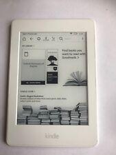 "Amazon Kindle PaperWhite 3 -7th Gen 2015 E-Reader DP75SDI 4G WIFI 6"" White (151)"