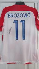 Firmado Marcelo Brozovic Croacia 2018 Copa del Mundo casa de Superdry con prueba exactas!