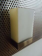Flos Wandleuchte Tin Square Wandleuchte Leuchte Glas/Metall max.100Wo.LED A++-E