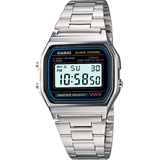 CASIO A158WA-1DF * Unisex Armbanduhr * NEU * Kostenloser Versand.