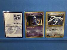 Mint Pokemon card GB2 Promo GR Mewtwo & Lugia set Japanese Holo Rare F/S