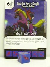 YU-GI-OH dice Masters - #021 Gaia The Fierce Knight-ricarica Stallion Base Set