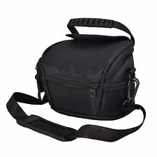 AAS Black Camera Case Bag for Samsung WB100 Bridge Camera