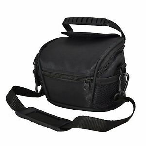 AAS Black Camera Case Bag for Samsung WB100 Bridge Camera
