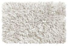 Carnation Home BM-M6L-21 21 x 34 in. Shag Cotton & Polyester Bath Mat White