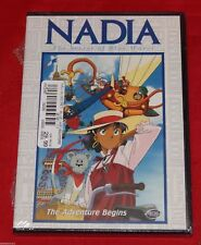 Nadia: Secret of the Blue Water Vol.1: The Adventure Begins (DVD,2001) BRAND NEW