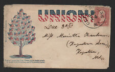 $Union Patriotic cover Traitor Tree States Clear Springs MD, Oct. 14
